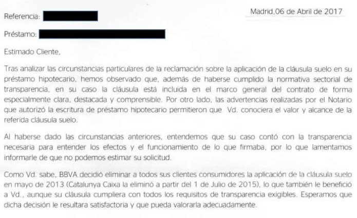 Los nuevos abusos de la banca celdr n abogados for Reclamacion devolucion clausula suelo