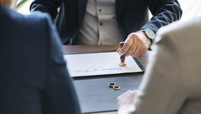 tramites para el divorcio