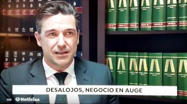 Desahucio exprés - entrevista en antena 3 - Jose Miguel Celdrán