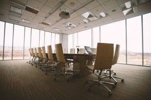 sala de reuniones de empresa